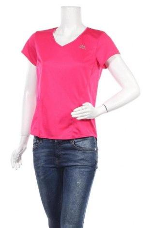 Дамска тениска Kalenji, Размер L, Цвят Розов, Полиестер, Цена 9,24лв.