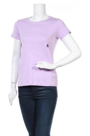 Дамска тениска Land's End, Размер S, Цвят Лилав, Памук, Цена 21,84лв.