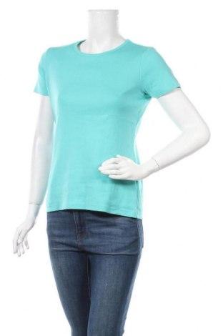 Γυναικείο t-shirt Land's End, Μέγεθος S, Χρώμα Πράσινο, 100% βαμβάκι, Τιμή 3,64€