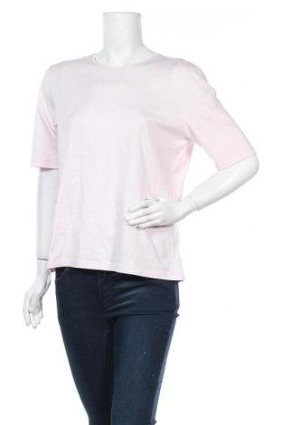 Дамска тениска Le Tricot Perugia, Размер XXL, Цвят Розов, 95% памук, 5% еластан, Цена 15,96лв.