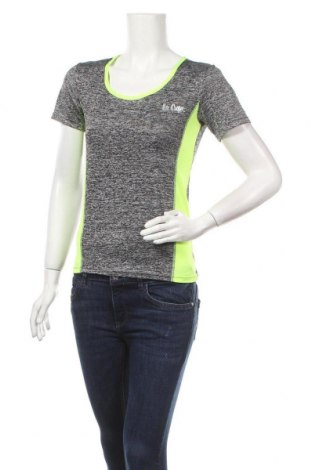 Дамска тениска Lee Cooper, Размер S, Цвят Сив, 90% полиестер, 10% еластан, Цена 13,97лв.