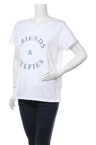 Дамска тениска Lefties, Размер XL, Цвят Бял, Памук, Цена 19,50лв.