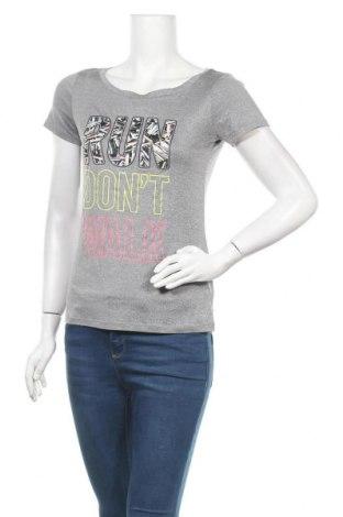 Дамска тениска Live Love Dream, Размер S, Цвят Сив, Полиестер, Цена 8,40лв.