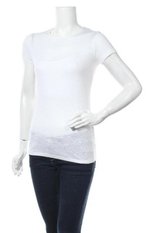 Дамска тениска Majestic, Размер S, Цвят Екрю, 94% лен, 6% еластан, Цена 13,23лв.