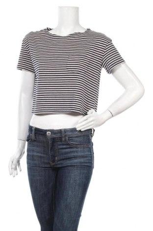 Дамска тениска Mango, Размер M, Цвят Син, Цена 7,56лв.