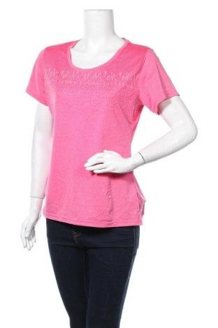 Γυναικείο t-shirt Manguun, Μέγεθος XL, Χρώμα Ρόζ , 92% πολυεστέρας, 8% ελαστάνη, Τιμή 8,02€