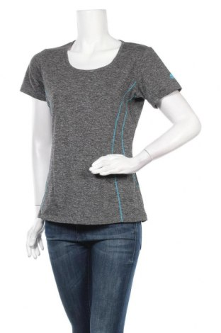 Дамска тениска Manguun, Размер L, Цвят Сив, 92% полиестер, 8% еластан, Цена 16,96лв.