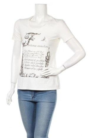 Дамска тениска Marc Aurel, Размер S, Цвят Бял, 90% памук, 10% еластан, Цена 18,72лв.