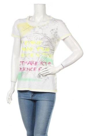 Дамска тениска Marc Aurel, Размер M, Цвят Бял, 90% памук, 10% еластан, Цена 17,28лв.