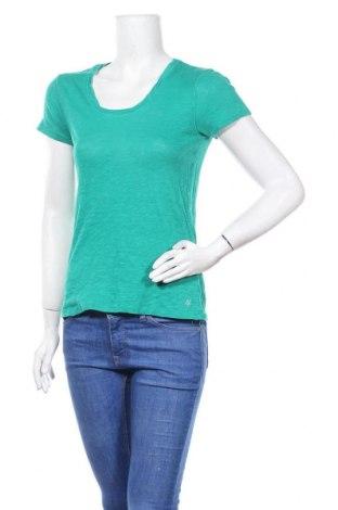 Дамска тениска Marc O'Polo, Размер M, Цвят Зелен, Памук, Цена 26,88лв.