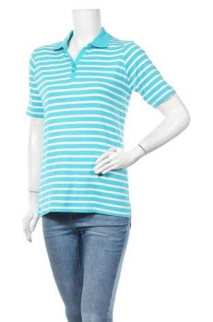 Дамска тениска Mark Adam, Размер XL, Цвят Син, Памук, Цена 10,29лв.