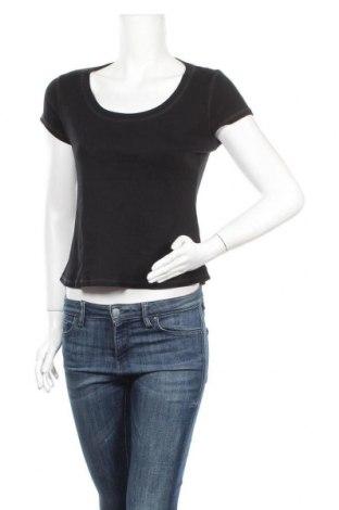 Дамска тениска Marks & Spencer, Размер M, Цвят Черен, Памук, Цена 5,88лв.