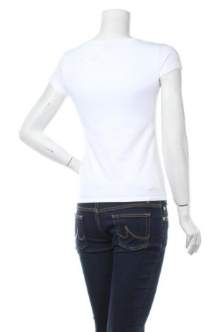 Дамска тениска Massimo Dutti, Размер S, Цвят Бял, 92% памук, 8% еластан, Цена 14,75лв.