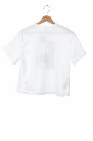 Дамска тениска Massimo Dutti, Размер XS, Цвят Бял, Памук, Цена 16,80лв.
