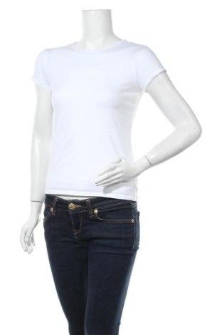 Дамска тениска Massimo Dutti, Размер M, Цвят Бял, 92% памук, 8% еластан, Цена 18,90лв.
