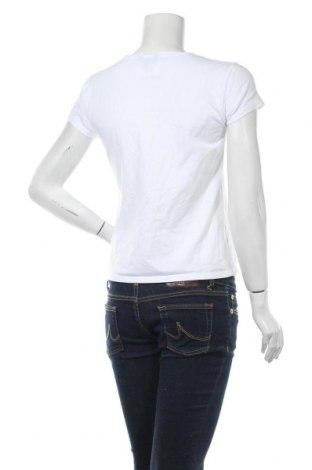 Дамска тениска Massimo Dutti, Размер L, Цвят Бял, 92% памук, 8% еластан, Цена 13,50лв.