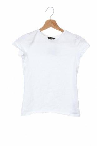 Дамска тениска Massimo Dutti, Размер XS, Цвят Бял, 92% памук, 8% еластан, Цена 18,90лв.