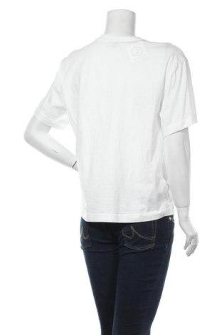 Дамска тениска Massimo Dutti, Размер L, Цвят Бял, 100% памук, Цена 17,82лв.