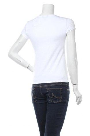 Дамска тениска Massimo Dutti, Размер M, Цвят Бял, 92% памук, 8% еластан, Цена 13,50лв.