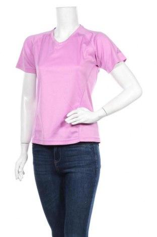 Γυναικείο t-shirt McKinley, Μέγεθος M, Χρώμα Βιολετί, Πολυεστέρας, Τιμή 5,26€