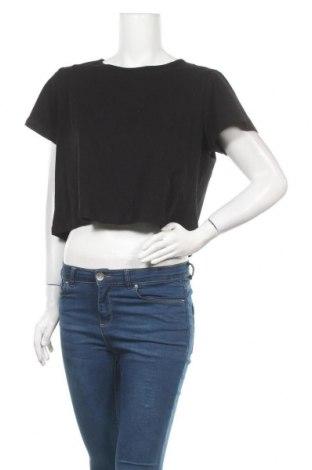 Дамска тениска Missguided, Размер L, Цвят Черен, 95% памук, 5% еластан, Цена 14,00лв.