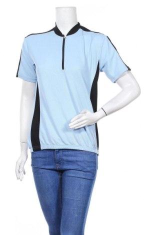 Дамска тениска Nakamura, Размер L, Цвят Син, Полиестер, Цена 14,28лв.