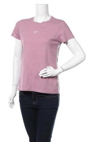 Dámské tričko Nike, Velikost S, Barva Fialová, 60% bavlna, 20% viskóza, 20% polyester, Cena  323,00Kč