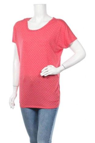 Дамска тениска Nike, Размер S, Цвят Червен, 64% полиестер, 36% вискоза, Цена 11,76лв.