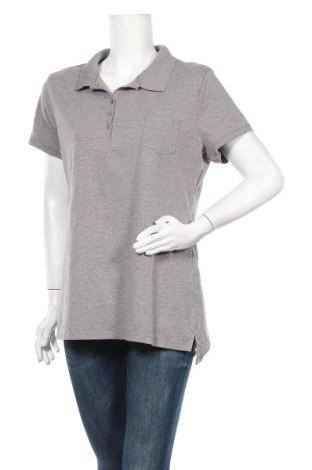 Дамска тениска No Boundaries, Размер XXL, Цвят Сив, 57% памук, 38% полиестер, Цена 8,82лв.