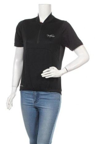 Дамска тениска North Wave, Размер M, Цвят Черен, Полиестер, Цена 22,94лв.