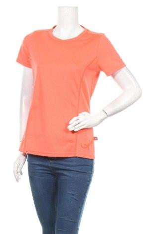Дамска тениска Ock, Размер M, Цвят Оранжев, Полиестер, Цена 8,93лв.