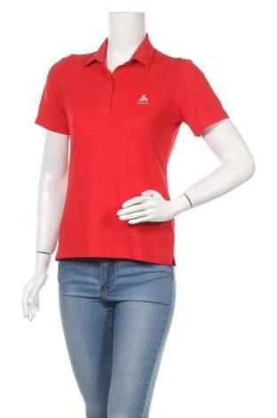 Дамска тениска Odlo, Размер S, Цвят Червен, Полиестер, Цена 18,95лв.