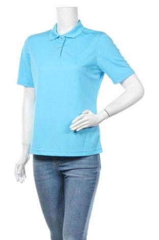 Дамска тениска Odlo, Размер M, Цвят Син, 100% полиестер, Цена 11,03лв.