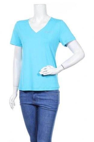 Дамска тениска Odlo, Размер M, Цвят Син, 88% полиестер, 12% еластан, Цена 18,90лв.
