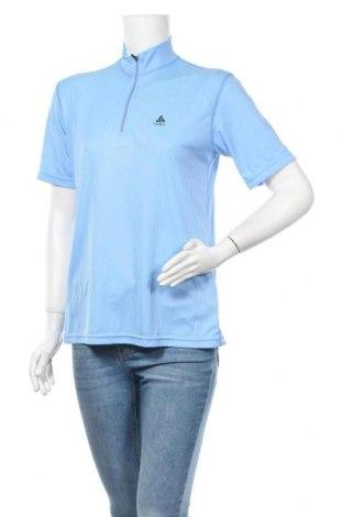 Дамска тениска Odlo, Размер M, Цвят Син, Полиестер, Цена 10,29лв.