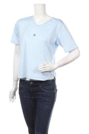 Дамска тениска Odlo, Размер M, Цвят Син, Полиестер, Цена 17,85лв.