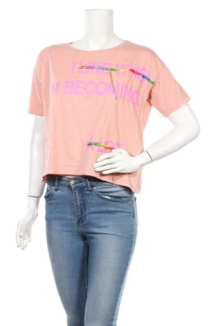 Дамска тениска Olivia, Размер L, Цвят Розов, Памук, Цена 13,97лв.
