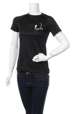 Дамска тениска Open Air, Размер S, Цвят Черен, 100% полиестер, Цена 5,88лв.