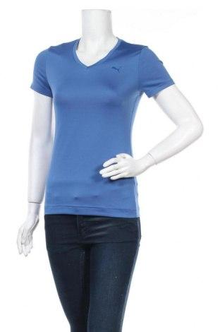 Дамска тениска PUMA, Размер S, Цвят Син, Цена 12,29лв.
