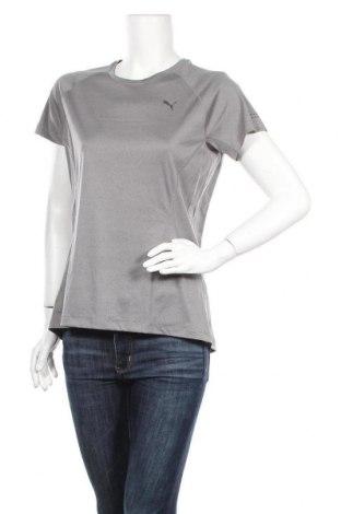 Дамска тениска PUMA, Размер L, Цвят Сив, Полиестер, Цена 13,65лв.