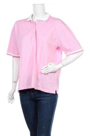 Дамска тениска Peter Hahn, Размер XL, Цвят Розов, Памук, Цена 6,83лв.