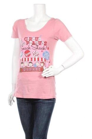 Дамска тениска Pull&Bear, Размер L, Цвят Розов, Цена 12,60лв.