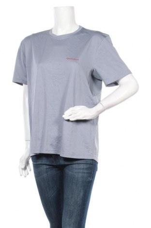 Дамска тениска Quechua, Размер XL, Цвят Син, Полиестер, Цена 8,87лв.
