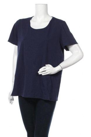 Дамска тениска Regatta, Размер XL, Цвят Син, 95% памук, 5% еластан, Цена 26,46лв.