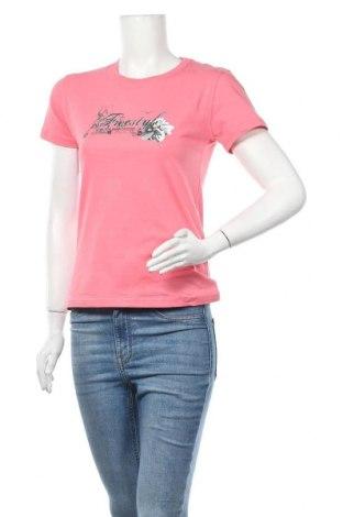 Дамска тениска Rodeo, Размер M, Цвят Розов, 95% памук, 5% еластан, Цена 12,60лв.
