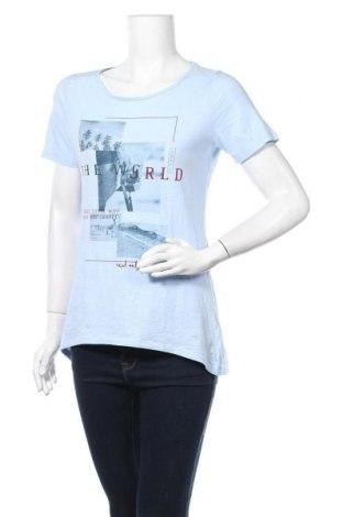 Дамска тениска S.Oliver, Размер M, Цвят Син, Цена 14,18лв.