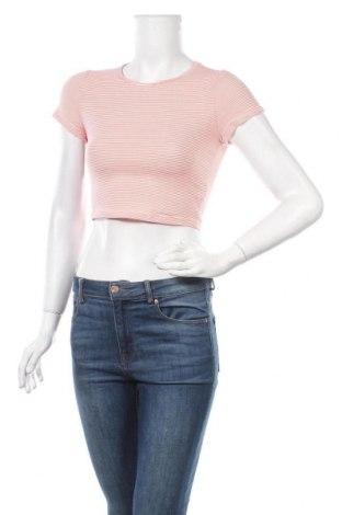 Дамска тениска SHEIN, Размер S, Цвят Розов, 95% памук, 5% еластан, Цена 4,46лв.