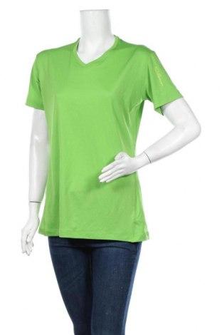 Дамска тениска Salomon, Размер L, Цвят Зелен, Полиестер, Цена 11,34лв.