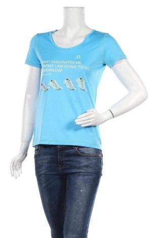 Дамска тениска Salomon, Размер S, Цвят Син, Полиестер, Цена 23,21лв.