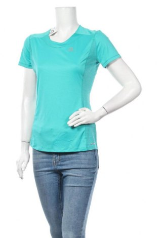 Дамска тениска Salomon, Размер M, Цвят Зелен, Полиамид, Цена 20,16лв.